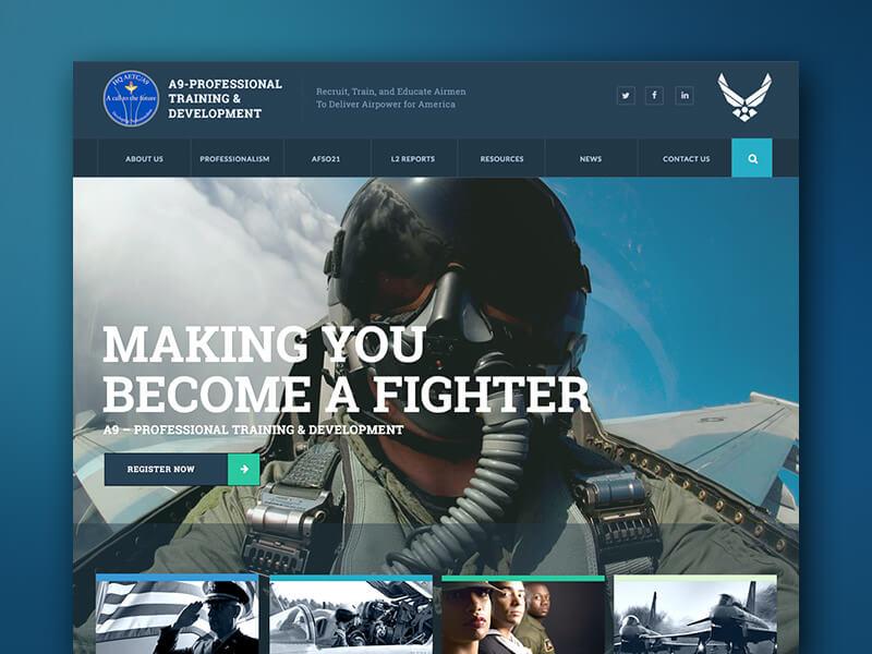 USAF A9 Website