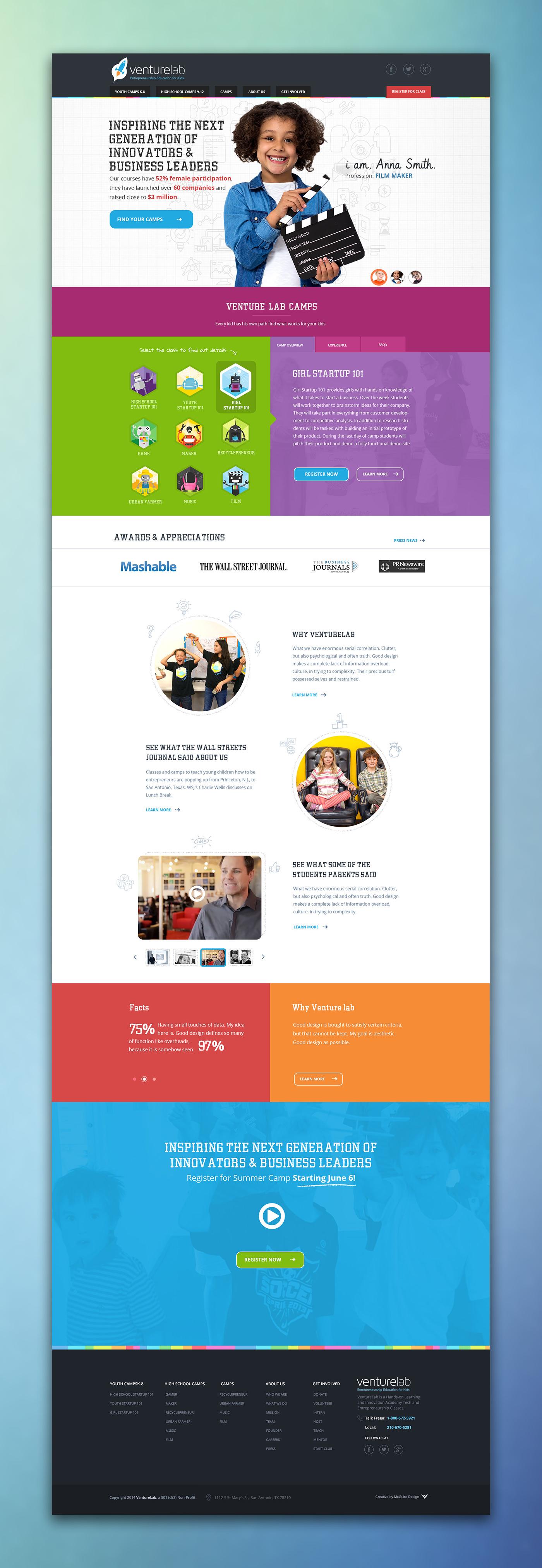 Venture Lab Homepage