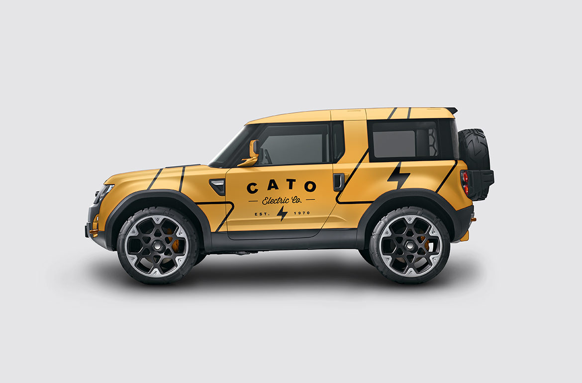 Cato Electric Company Vehicle