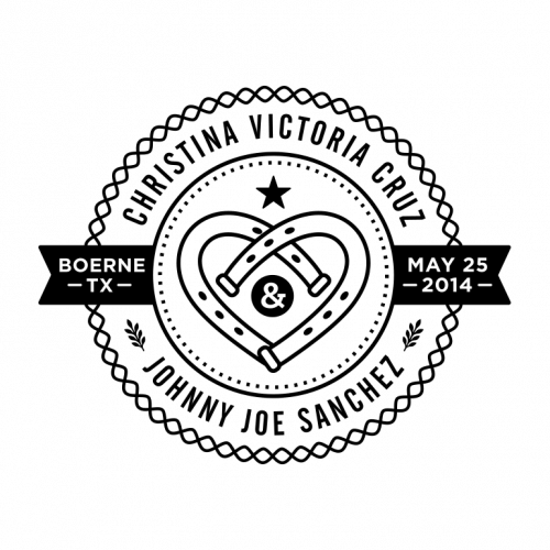 Cruz & Sanchez Wedding Logo