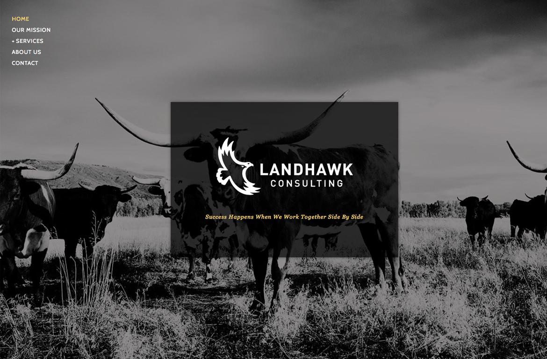 Landhawk Consulting Website