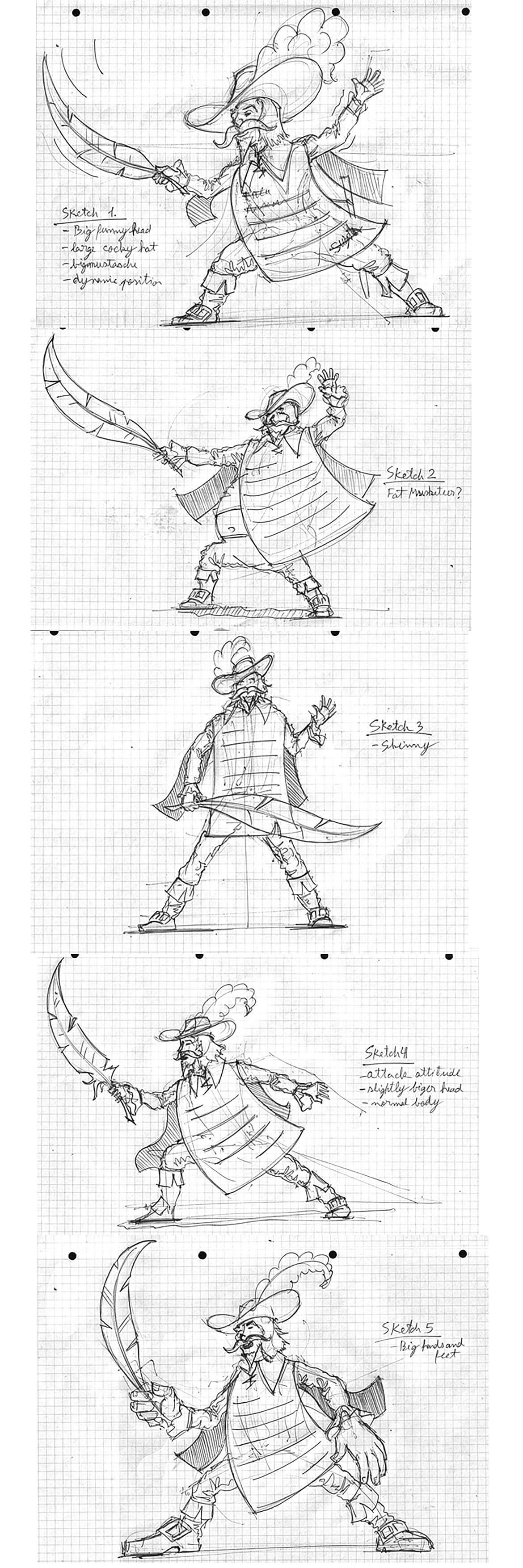 OurDeal Character Logo Development