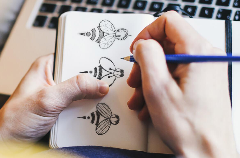 STINGERSS Logo Sketches